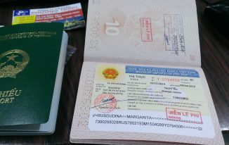 Vietnam visa on arrival for 6 months or one year multiple entry visa