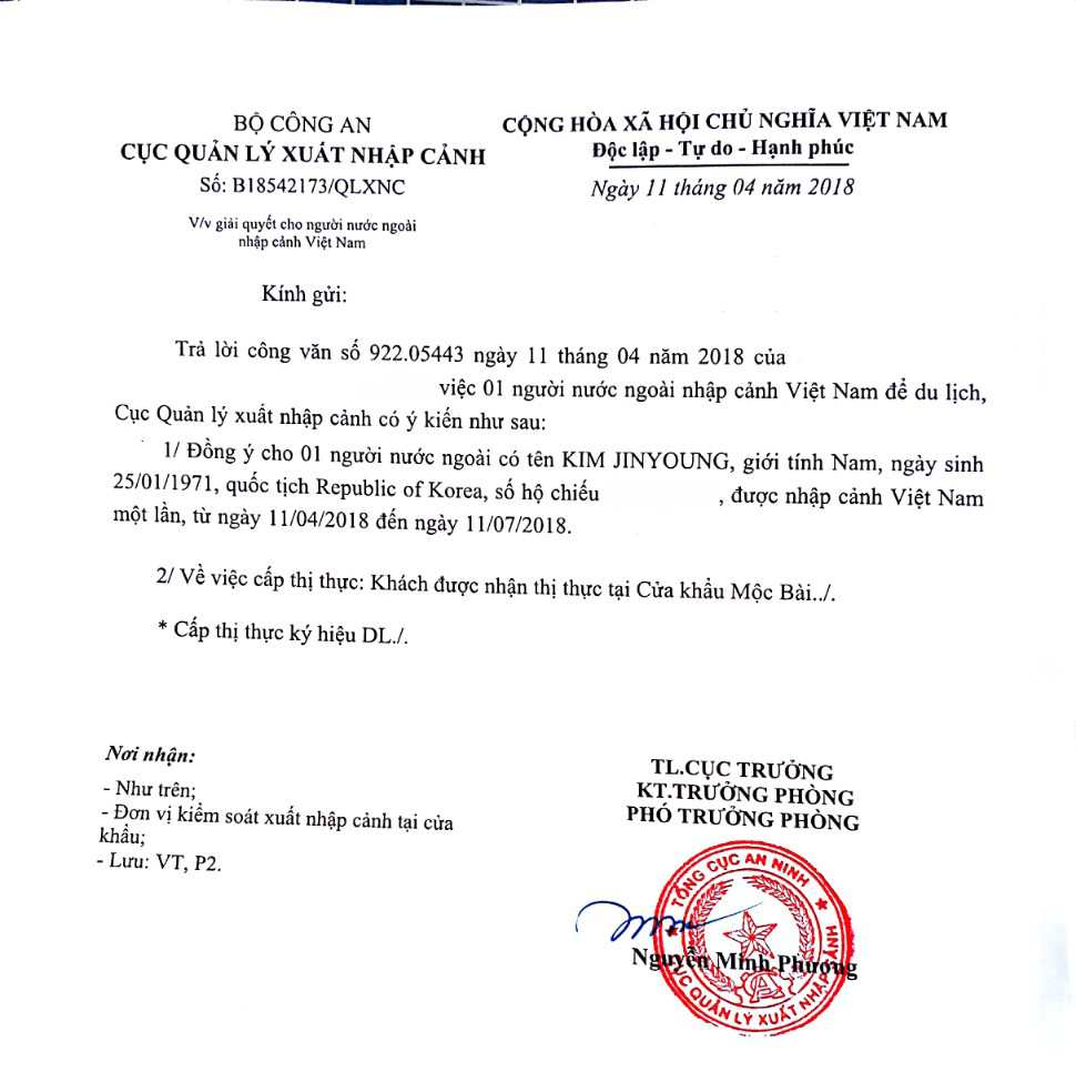 Vietnam visa requirements for Cambodia