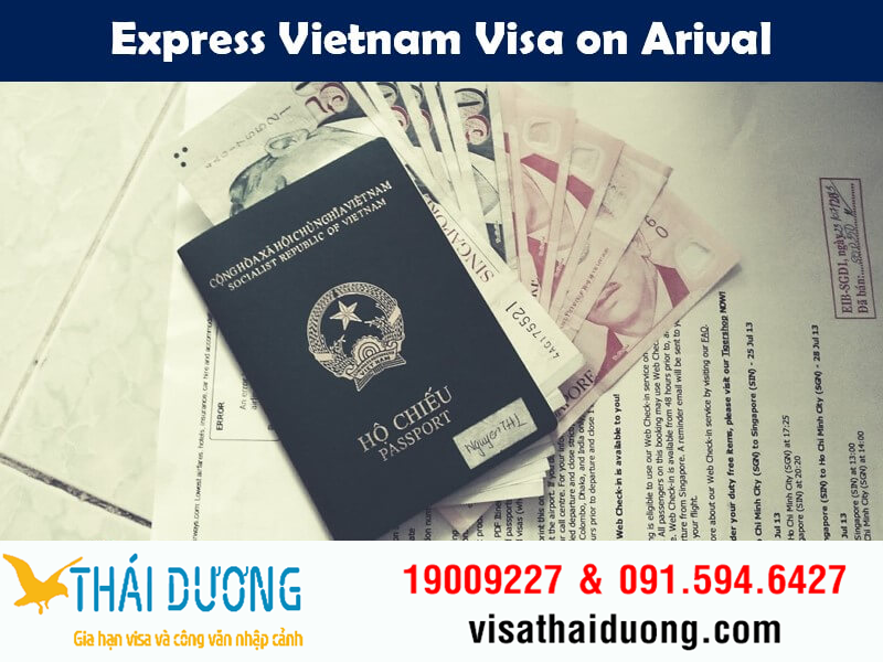 Express Vietnam visa on arrival
