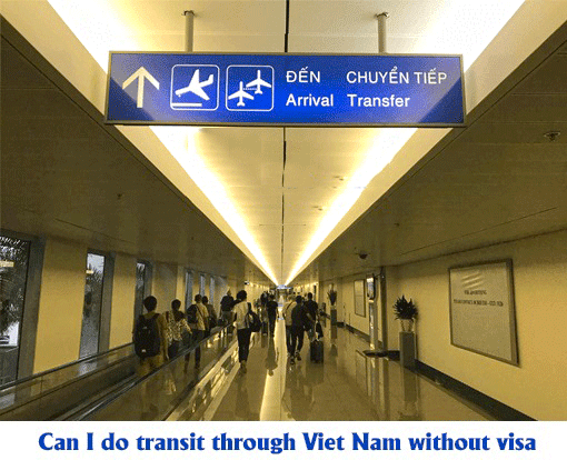 Vietnam transit visa for travelers